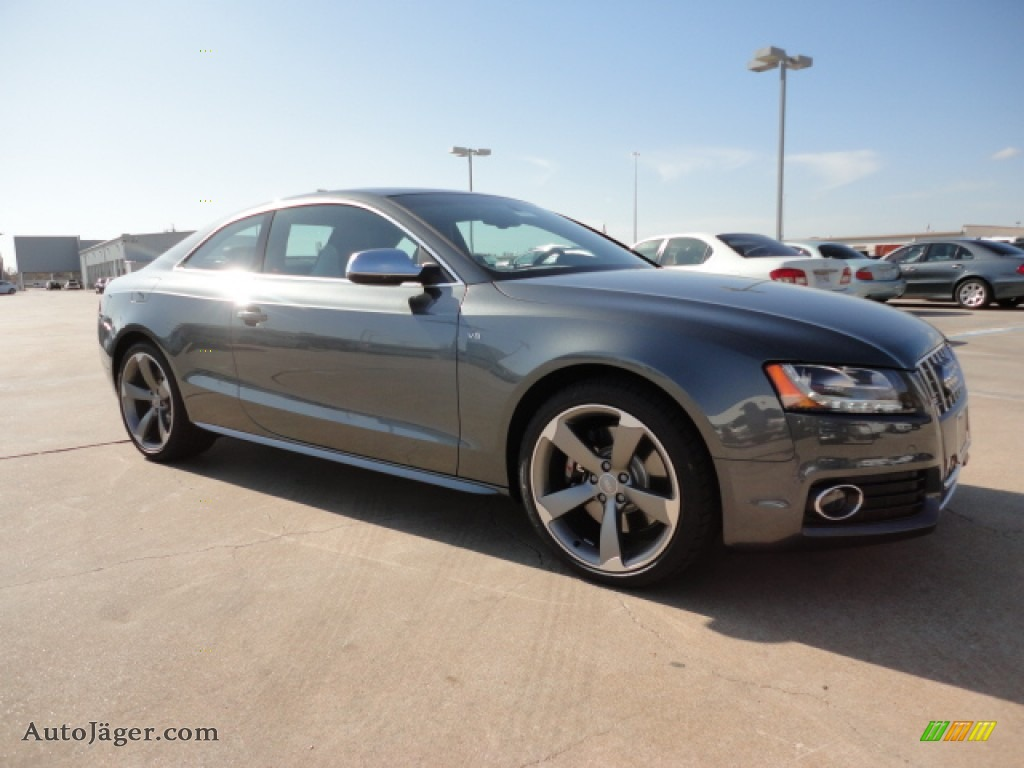 2012 audi s5 4 2 fsi quattro coupe in monsoon grey metallic 018087 auto j ger german cars. Black Bedroom Furniture Sets. Home Design Ideas