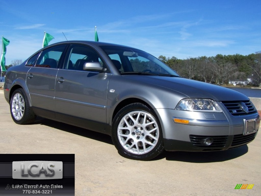2003 volkswagen passat w8 4motion sedan in silverstone grey metallic photo 16 266192 auto. Black Bedroom Furniture Sets. Home Design Ideas