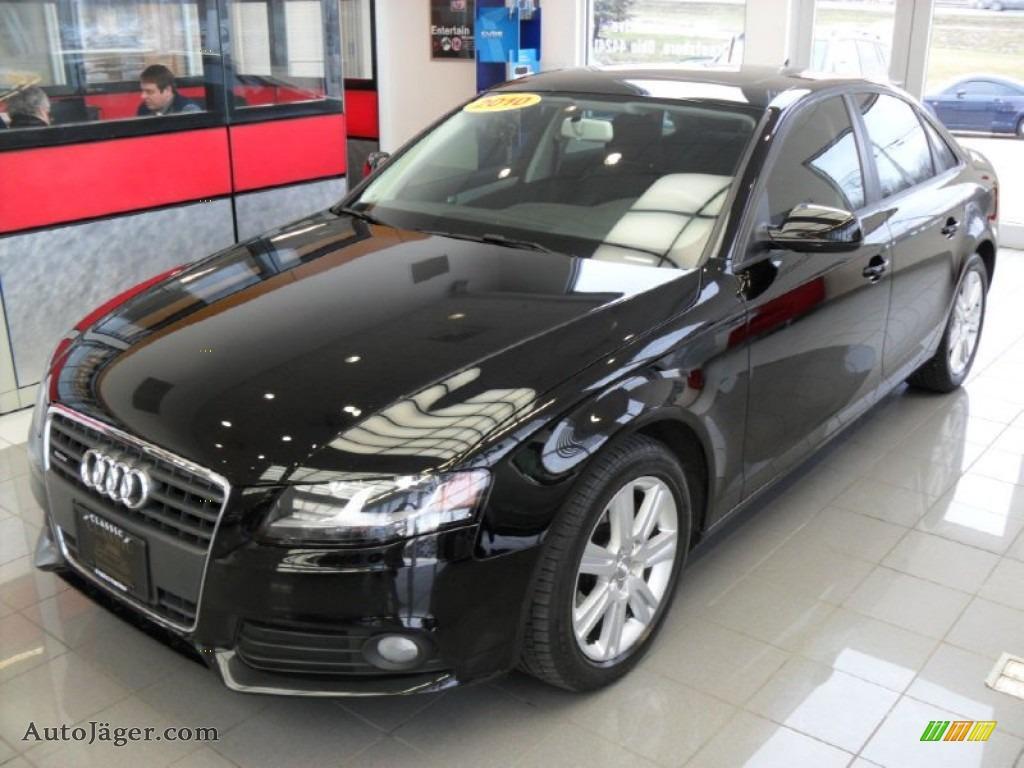 2010 Audi A4 2 0t Quattro Sedan In Phantom Black Pearl