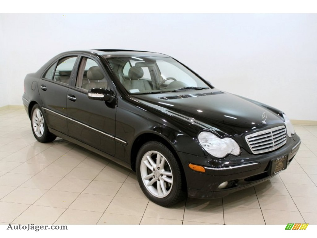 2002 mercedes benz c 320 sedan in obsidian black metallic for Simonson mercedes benz