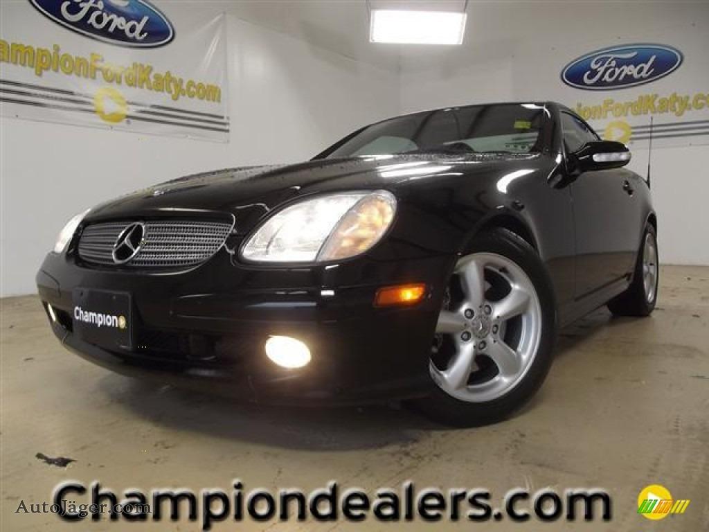 2003 mercedes benz slk 320 roadster in black 295286 for Mercedes benz slk roadster for sale