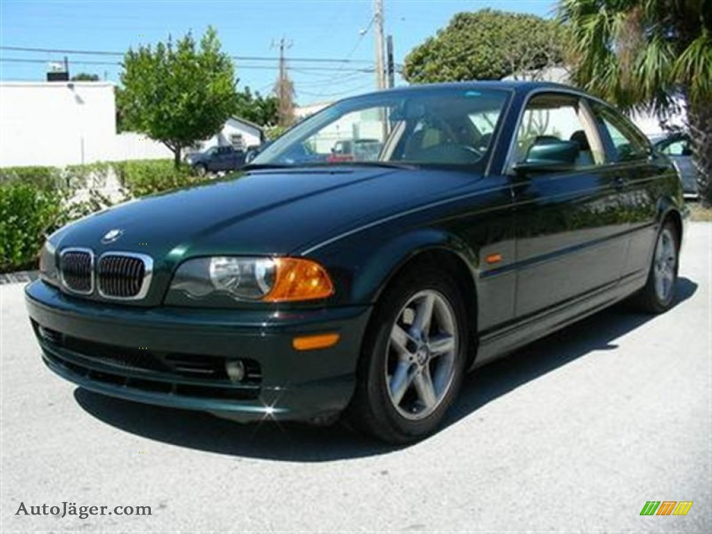 2001 bmw 3 series 325i coupe in fern green metallic w59396 auto j ger german cars for sale. Black Bedroom Furniture Sets. Home Design Ideas