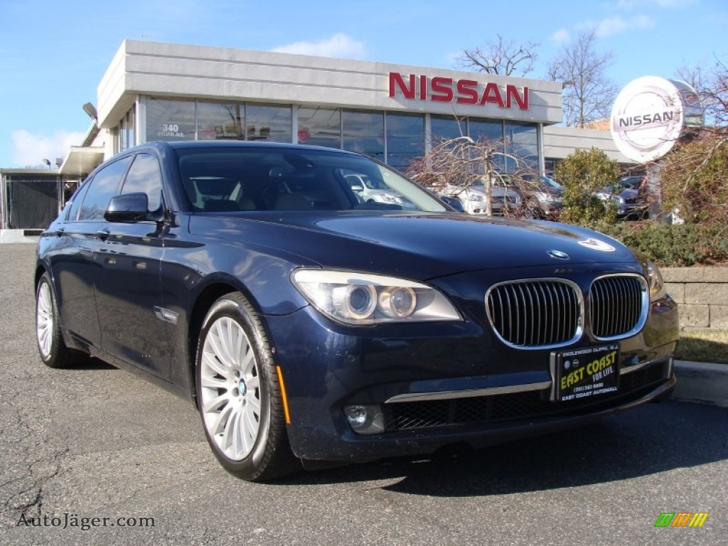 2009 bmw 7 series 750li sedan in deep sea blue metallic y60933 auto j ger german cars for. Black Bedroom Furniture Sets. Home Design Ideas