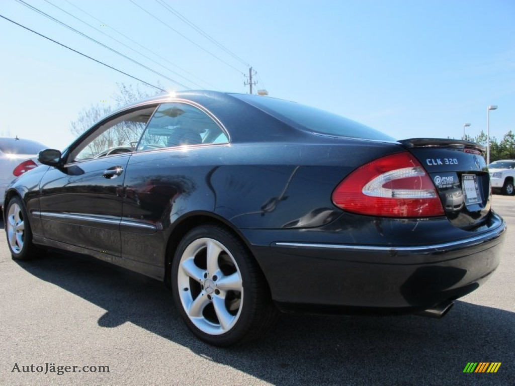 2004 mercedes benz clk 320 coupe in black opal metallic for Mercedes benz clk 320