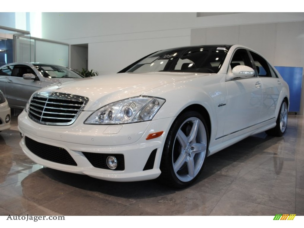 2009 mercedes benz s 63 amg sedan in arctic white photo 3 for Simonson mercedes benz