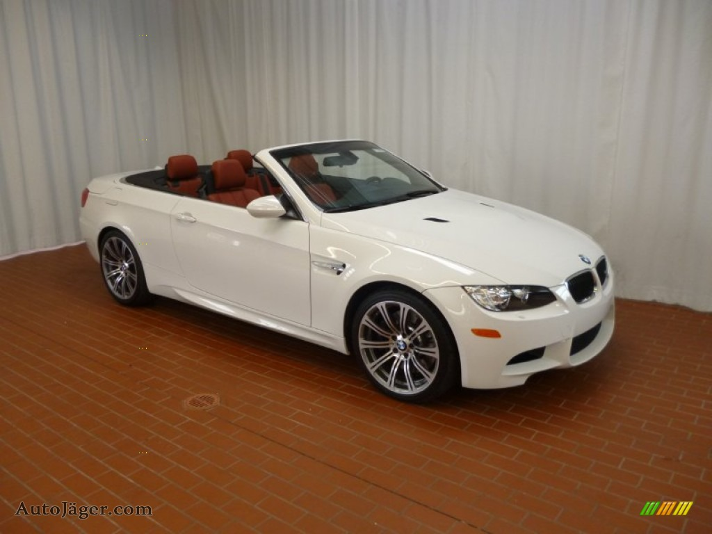 2012 bmw m3 convertible in alpine white 784851 auto j ger german cars for sale in the us for White bmw with red interior for sale