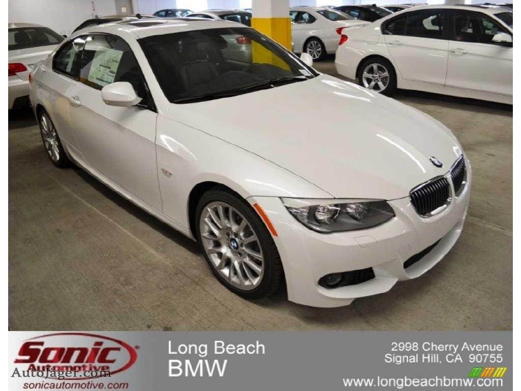 2012 bmw 3 series 328i coupe in mineral white metallic 756456 auto j ger german cars for. Black Bedroom Furniture Sets. Home Design Ideas