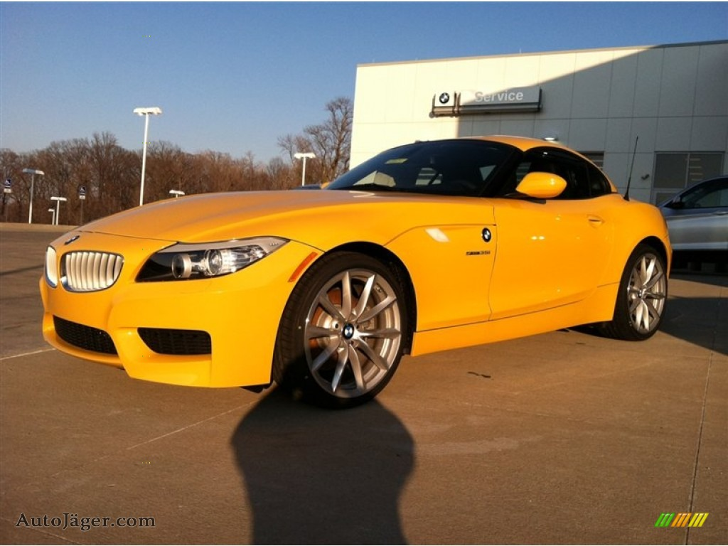 2012 Bmw Z4 Sdrive35i In Atacama Yellow 384593 Auto