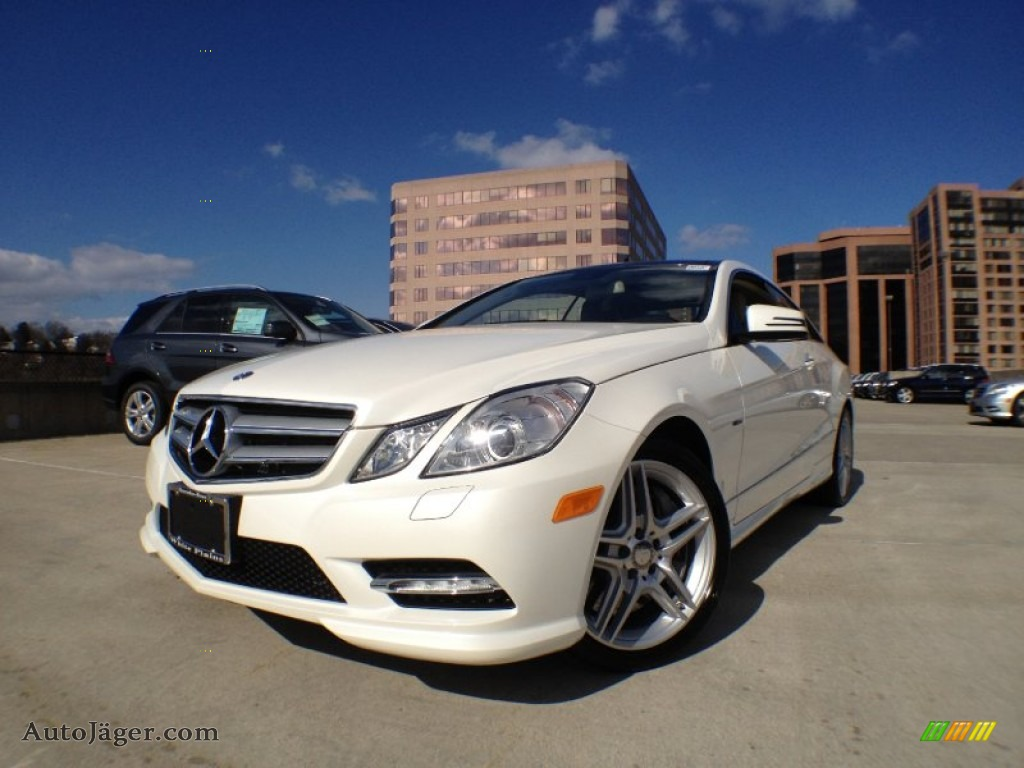 2012 mercedes benz e 550 coupe in diamond white metallic for Simonson mercedes benz