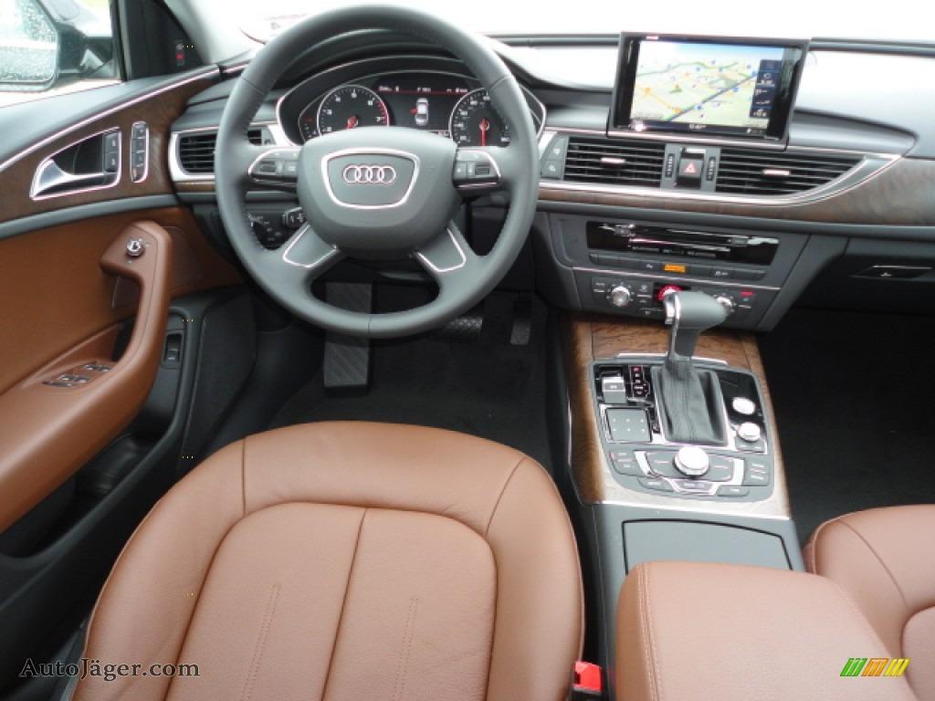2012 Audi A6 2 0t Sedan In Havana Black Metallic Photo 7