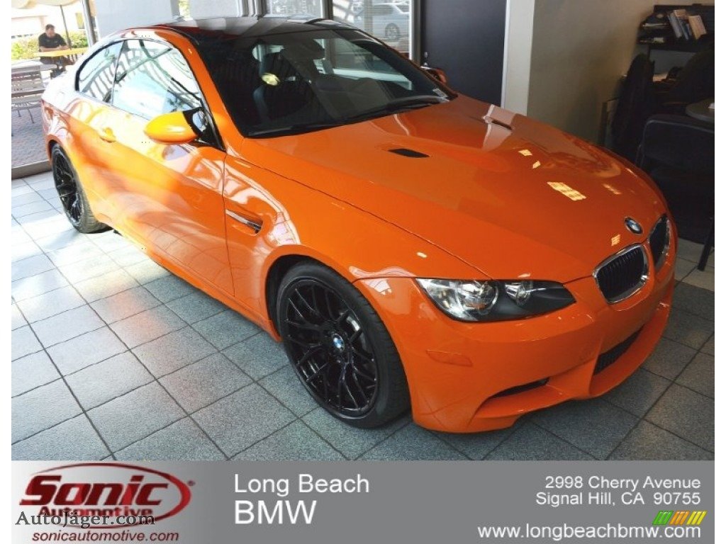 2012 bmw m3 coupe in special color fire orange 798358 auto