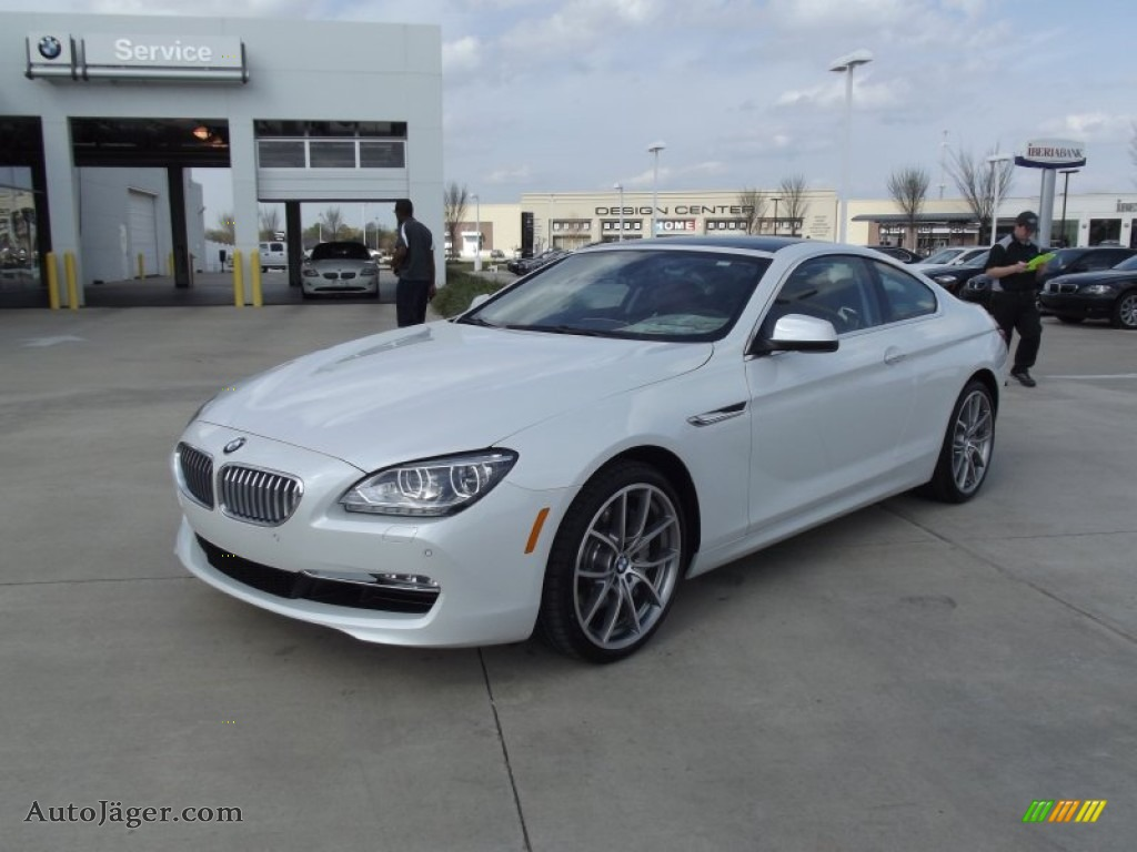 2012 bmw 6 series 650i coupe in mineral white metallic v77717 auto j ger german cars for. Black Bedroom Furniture Sets. Home Design Ideas