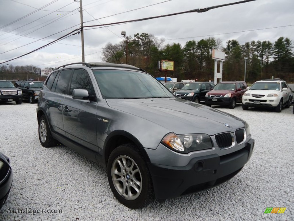 2004 bmw x3 in silver grey metallic c36406 auto. Black Bedroom Furniture Sets. Home Design Ideas