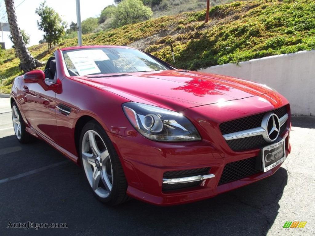 2012 mercedes benz slk 250 roadster in mars red 039322 auto j ger german cars for sale in. Black Bedroom Furniture Sets. Home Design Ideas