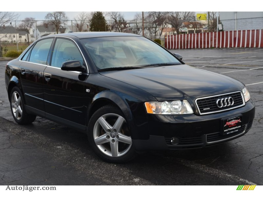 2004 audi a4 3 0 quattro sedan in brilliant black 028532 auto j ger german cars for sale. Black Bedroom Furniture Sets. Home Design Ideas