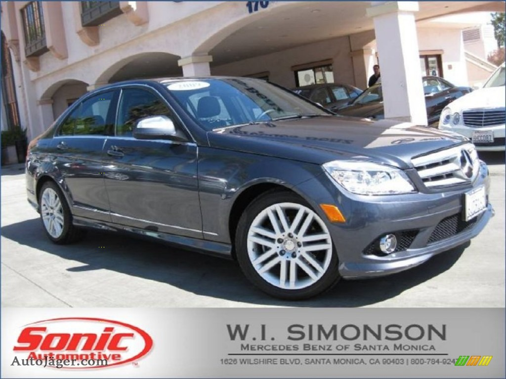 2009 mercedes benz c 300 sport in steel grey metallic for Simonson mercedes benz