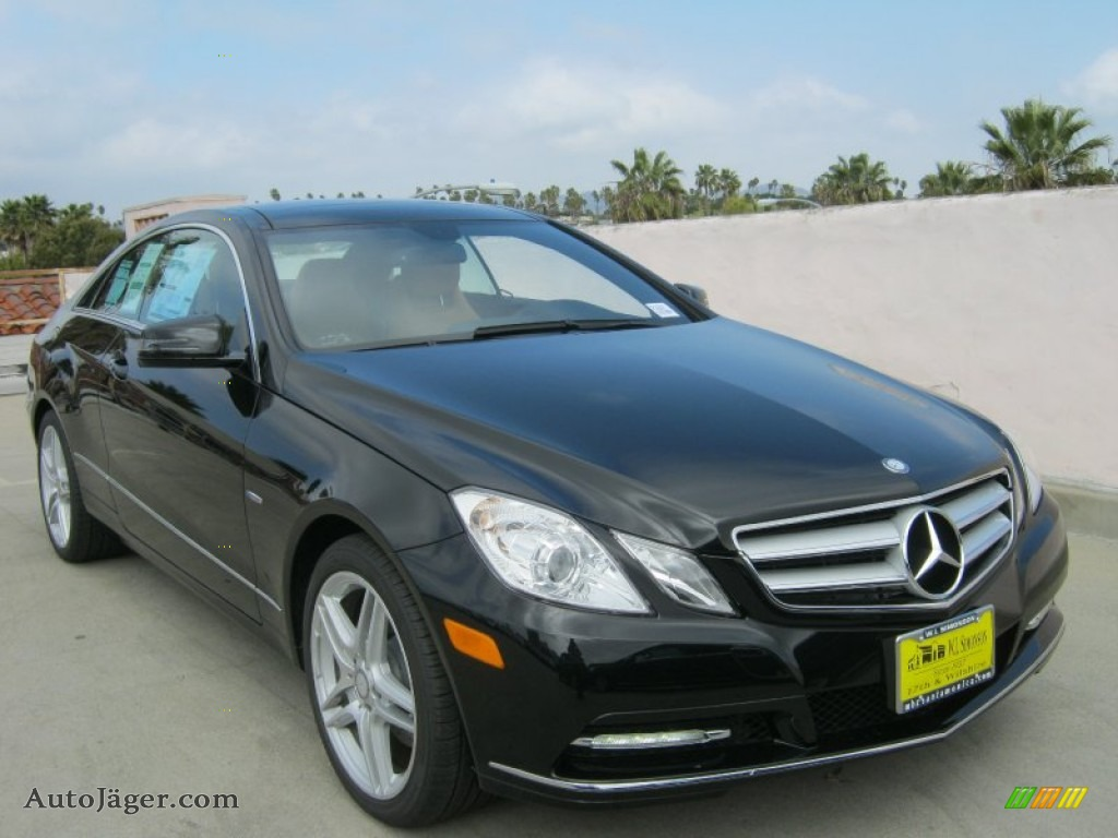 2012 mercedes benz e 350 coupe in obsidian black metallic for Simonson mercedes benz