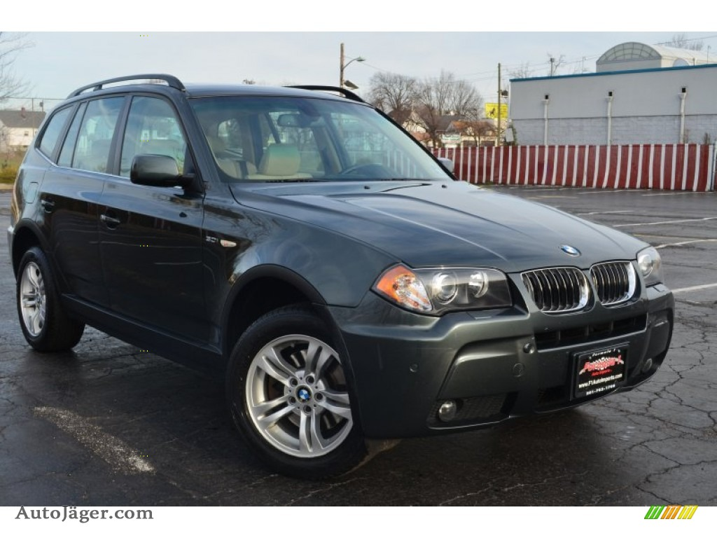 2006 bmw x3 in highland green metallic g81771 auto j ger german cars for sale in the us. Black Bedroom Furniture Sets. Home Design Ideas
