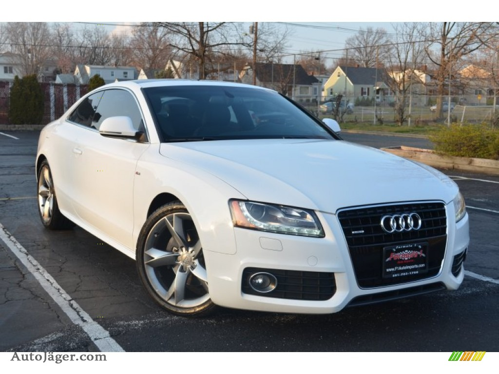 2009 audi a5 3 2 quattro coupe in ibis white photo 23 010638 auto j ger german cars for - White audi a5 coupe for sale ...