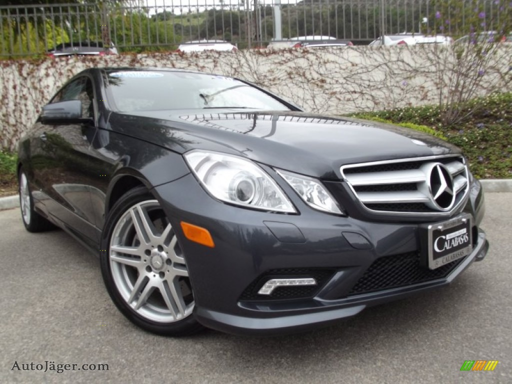 2010 mercedes benz e 550 coupe in steel grey metallic 043813 auto j ger german cars for. Black Bedroom Furniture Sets. Home Design Ideas
