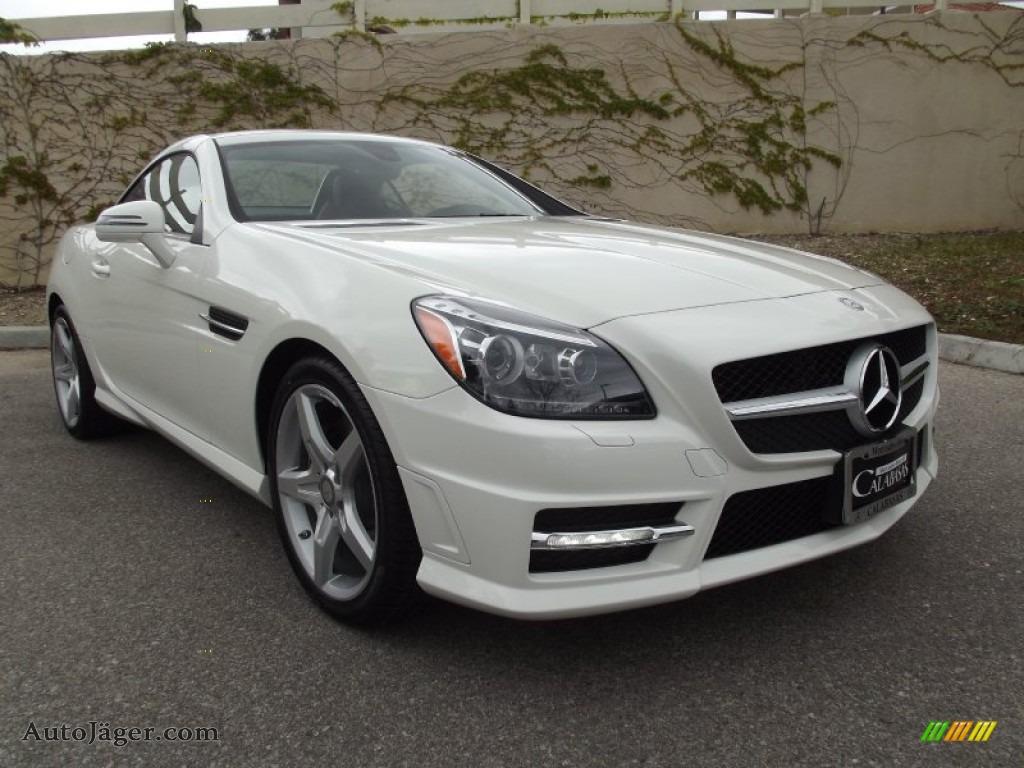 2012 mercedes benz slk 250 roadster in arctic white for Mercedes benz slk roadster for sale