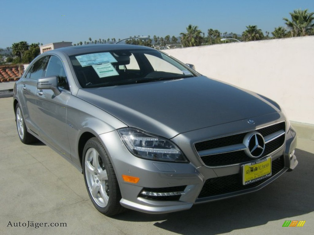 2012 mercedes benz cls 550 coupe in palladium silver metallic 041735 auto j ger german. Black Bedroom Furniture Sets. Home Design Ideas