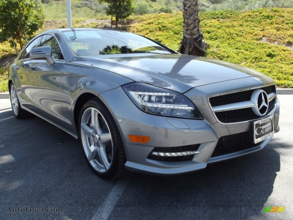 2012 mercedes benz cls 550 coupe in palladium silver metallic 042541 auto j ger german. Black Bedroom Furniture Sets. Home Design Ideas