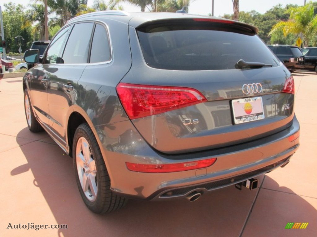 2012 Q5 3.2 FSI quattro - Monsoon Gray Metallic / Cardamom Beige photo #3