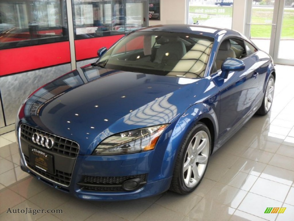 2008 audi tt 2 0t coupe in ocean blue pearl effect photo. Black Bedroom Furniture Sets. Home Design Ideas