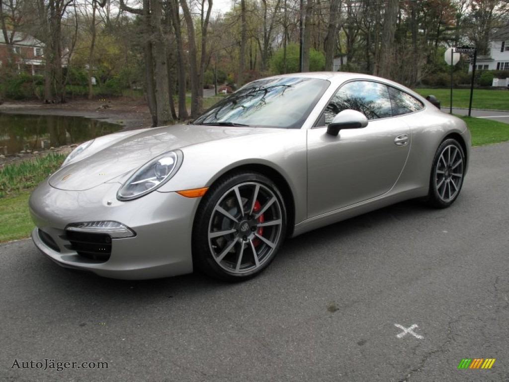 2012 Porsche New 911 Carrera S Coupe In Platinum Silver