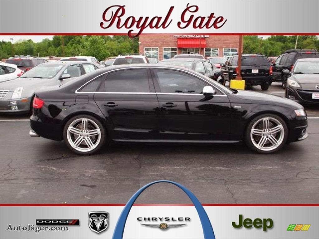 2011 audi s4 3 0 quattro sedan in phantom black pearl for Royal chrysler motors inc