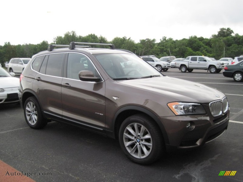 2011 Bmw X3 Xdrive 28i In Sparkling Bronze Metallic