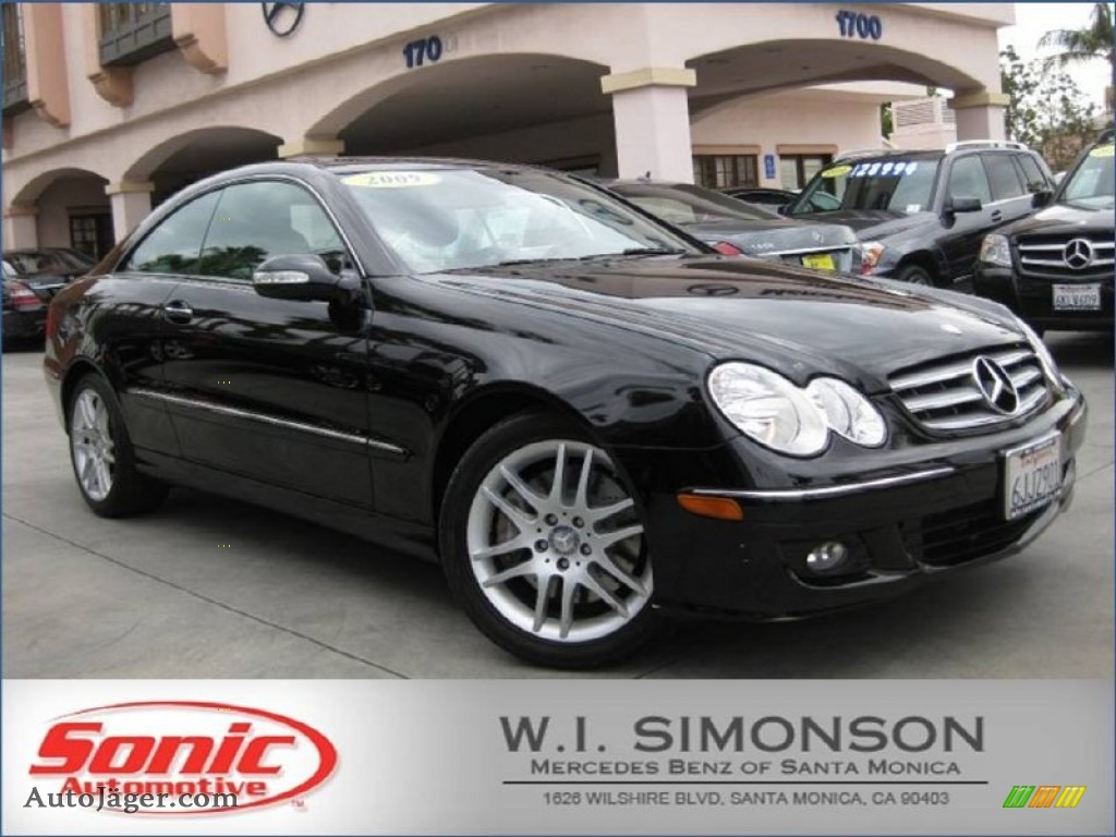 2009 mercedes benz clk 350 coupe in black 269316 auto for Simonson mercedes benz