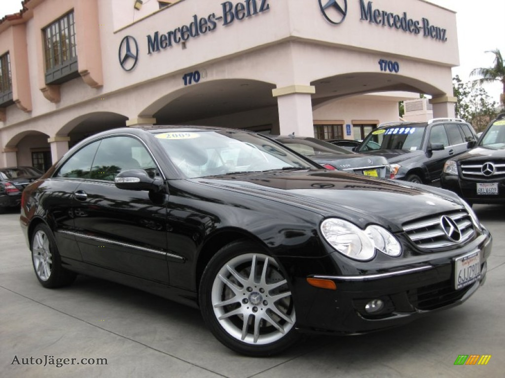 2009 mercedes benz clk 350 coupe in black photo 25 for Simonson mercedes benz