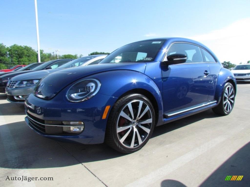 2012 volkswagen beetle turbo in reef blue metallic 637275 auto j ger german cars for sale. Black Bedroom Furniture Sets. Home Design Ideas