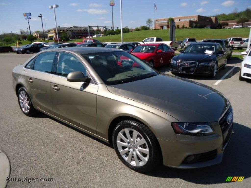2009 Audi A4 3 2 Quattro Sedan In Dakar Beige Metallic