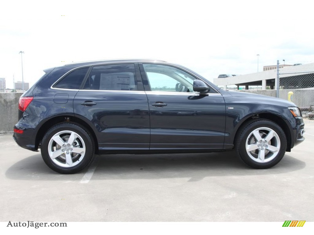 2012 Audi Q5 Blue 200 Interior And Exterior Images
