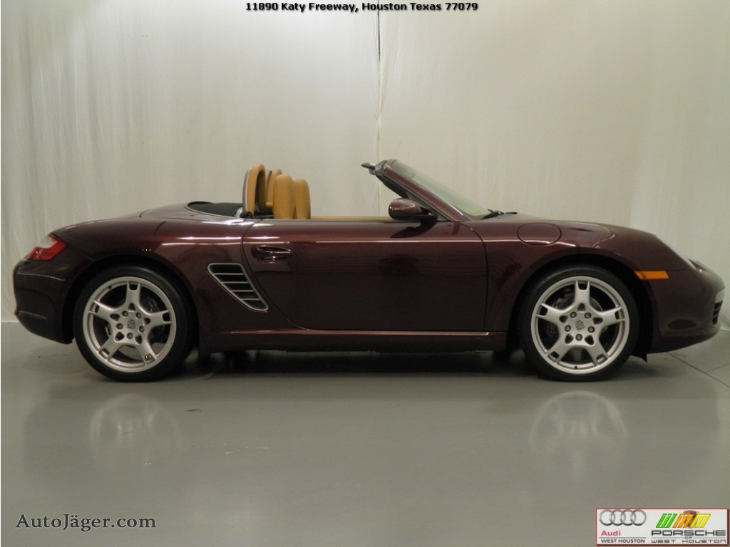 2005 Porsche Boxster In Carmon Red Metallic Photo 22