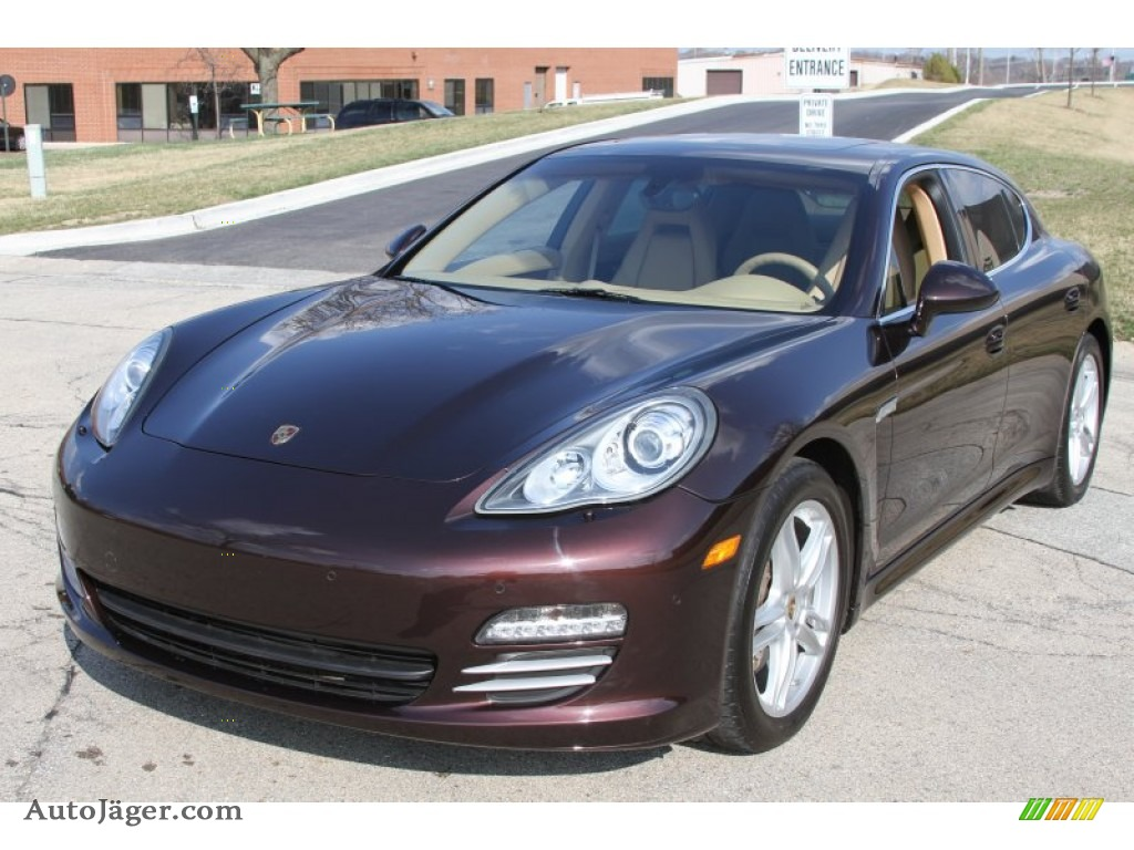 2011 Porsche Panamera 4s In Mahogany Metallic Photo 4
