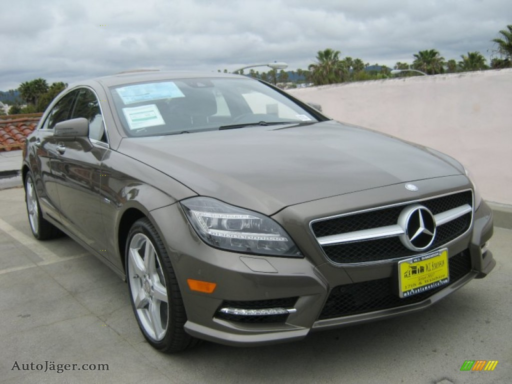 2012 mercedes benz cls 550 coupe in indium grey metallic for Mercedes benz cls 300 coupe