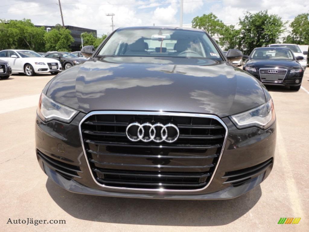 2012 audi a6 2 0t sedan in oolong gray metallic photo 2 146346 auto j ger german cars for. Black Bedroom Furniture Sets. Home Design Ideas
