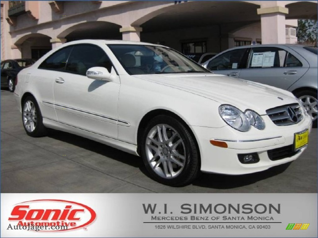 2009 mercedes benz clk 350 coupe in arctic white photo 6 for Simonson mercedes benz