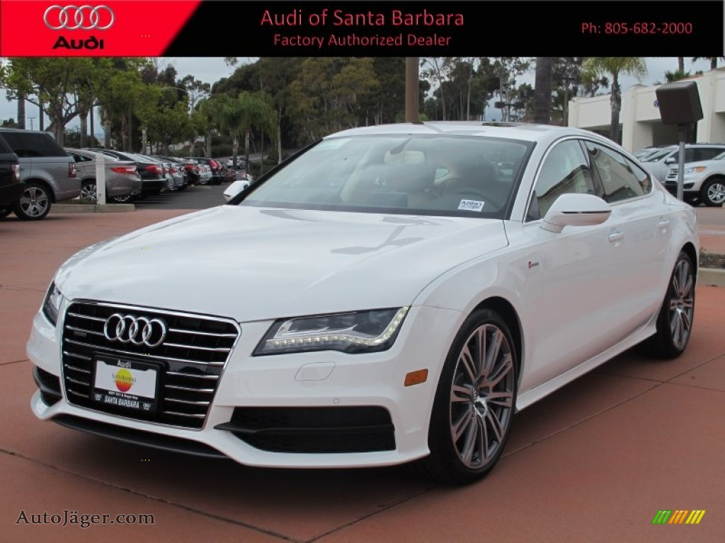 2012 audi a7 3 0t quattro premium in ibis white 148567 auto j ger german cars for sale in. Black Bedroom Furniture Sets. Home Design Ideas