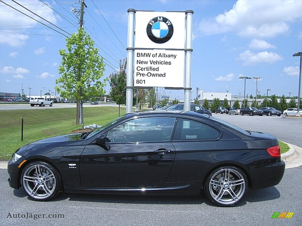 BMW Series Is Coupe In Black Sapphire Metallic - 2012 bmw 335is coupe
