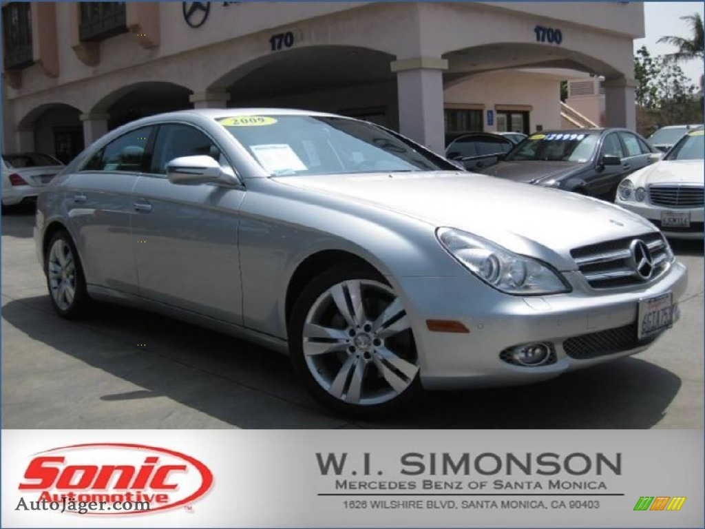2009 mercedes benz cls 550 in iridium silver metallic for Simonson mercedes benz