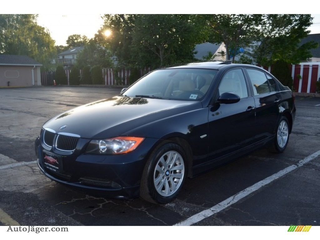 2007 bmw 3 series 328xi sedan in monaco blue metallic x53335 auto j ger german cars for. Black Bedroom Furniture Sets. Home Design Ideas