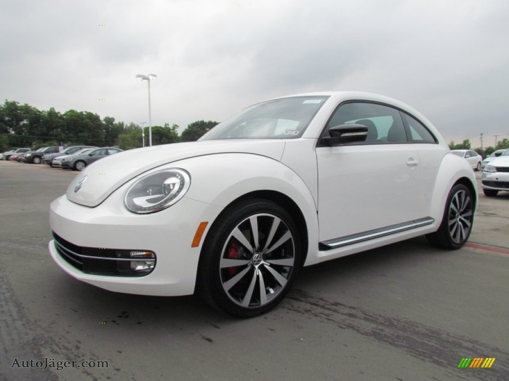 2012 volkswagen beetle turbo in candy white 644083 auto j ger german cars for sale in the us. Black Bedroom Furniture Sets. Home Design Ideas