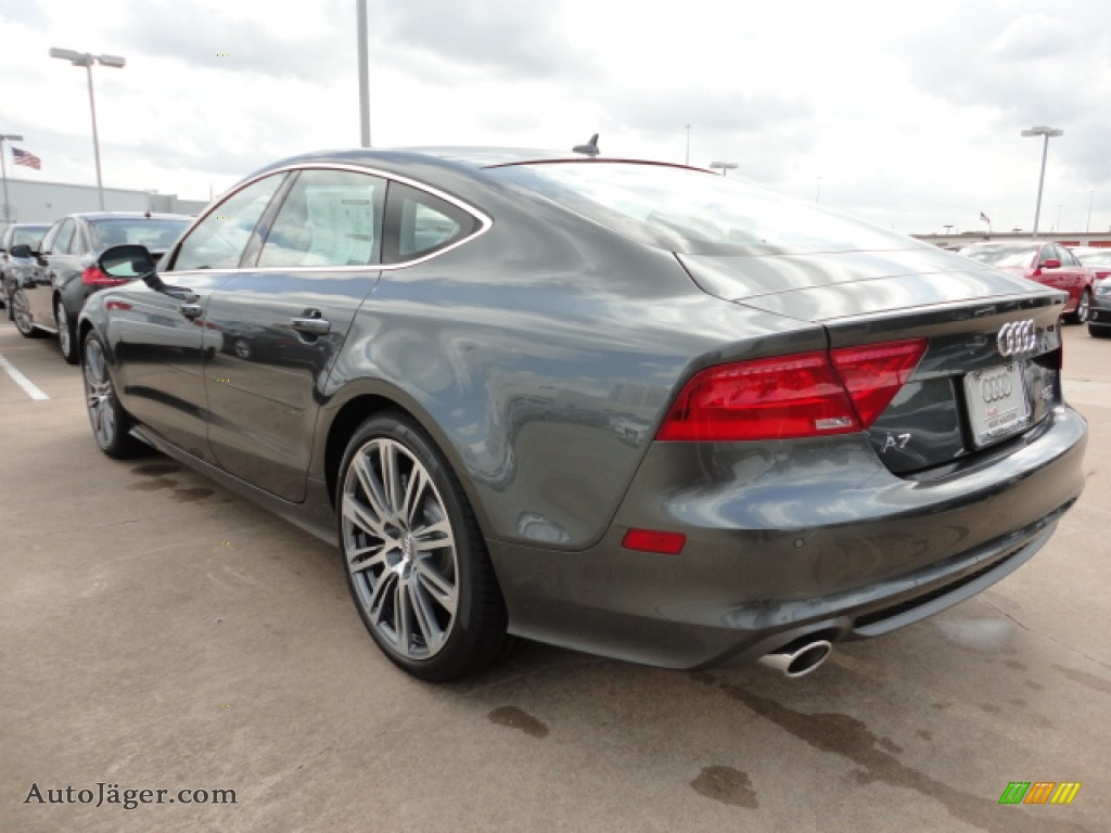 2012 Audi A7 3 0t Quattro Prestige In Oolong Grey Metallic