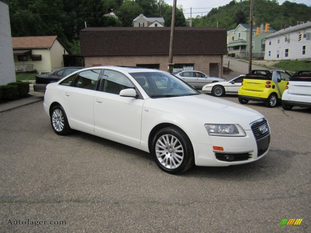 2006 audi a6 3 2 quattro sedan in arctic white 114568 auto j ger german cars for sale in. Black Bedroom Furniture Sets. Home Design Ideas