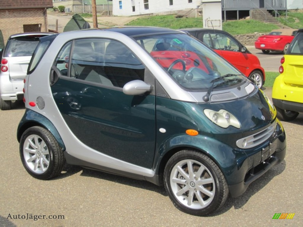 2006 smart fortwo turbo coupe in racing green 280786. Black Bedroom Furniture Sets. Home Design Ideas